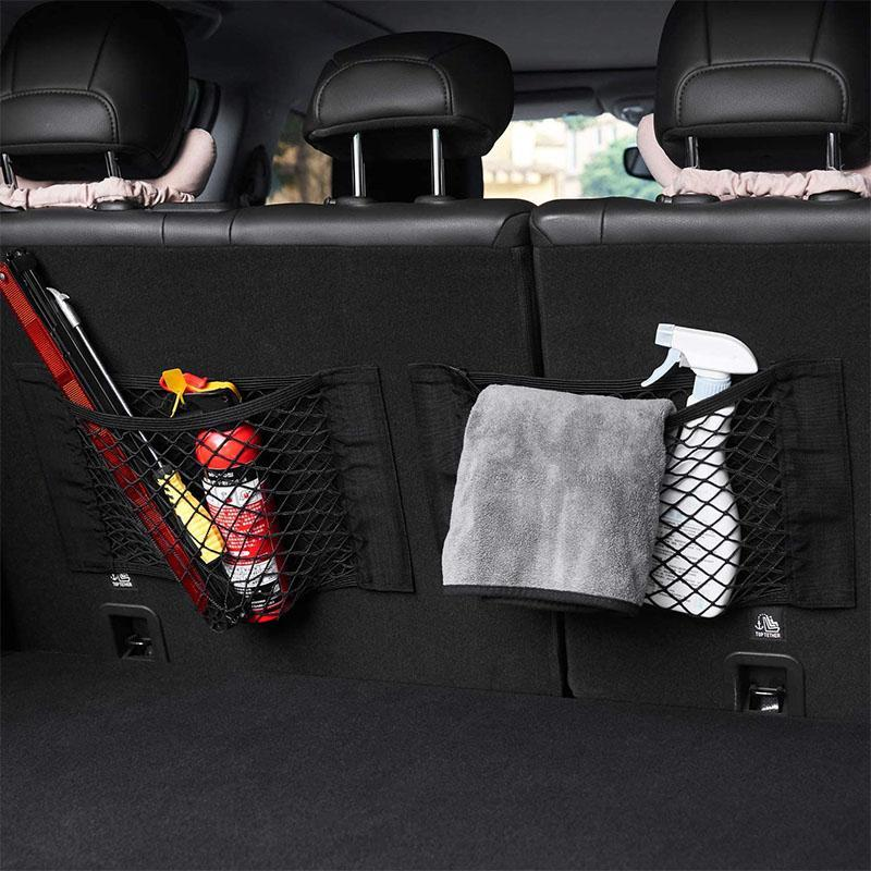 Trunk Velcro large mesh pocket CAR PRODUCTS AND TOOLS smartsaker