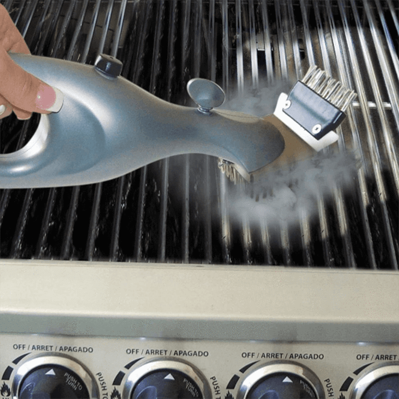 BBQ Vapor Cleaner Brush OUTDOOR BARBECUE smartsaker