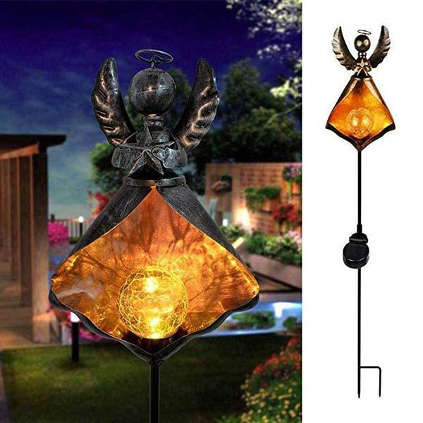Garden Solar LED Crackle Waterproof Light OUTDOOR LIGHTS Smart saker Type3
