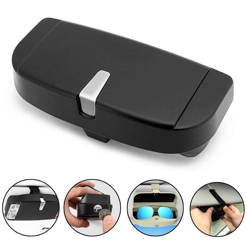 Universal Car Visor Sunglasses Case CAR PRODUCTS AND TOOLS Smart saker