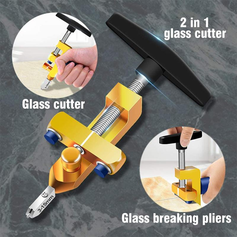 2 in 1 Integrated Glass & Tile Cutter OTHER HAND TOOLS Smart saker