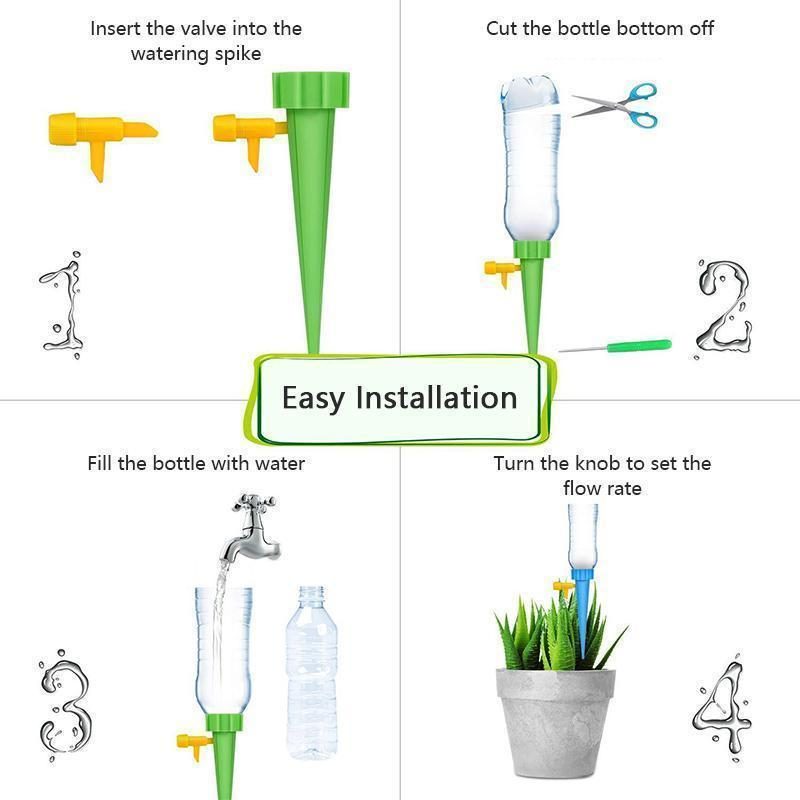 Automatic Water Irrigation Control System GARDEN HAND TOOLS smartsaker