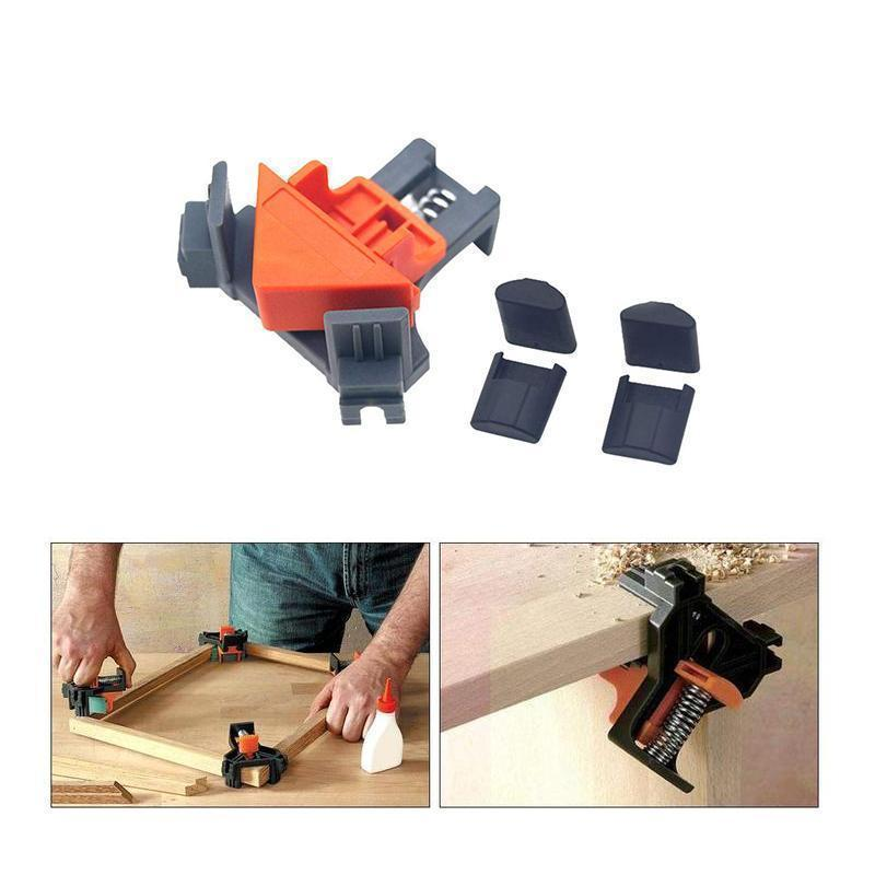 90 Degree Corner Clamps,4 Pcs OTHER HAND TOOLS smartsaker