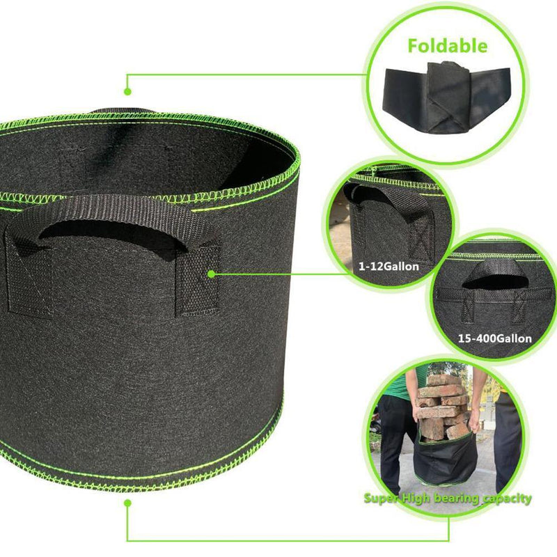 Grow Bags,Garden Planting Bag RAISED GARDEN BED smartsaker