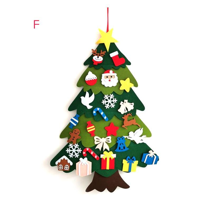 DIY Felt Christmas Tree(Best Gift For Children.) sunsetime F