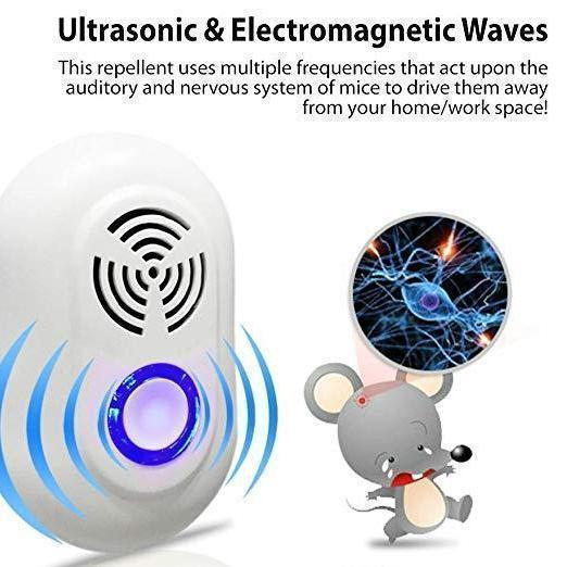 Ultrasonic pest repeller insect repeller ELECTRONIC PRODUCT TOOLS smartsaker