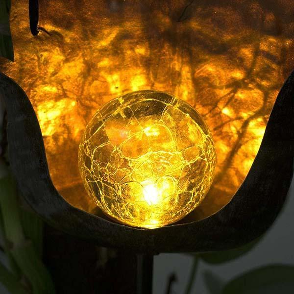 Garden Solar LED Crackle Waterproof Light OUTDOOR LIGHTS Smart saker