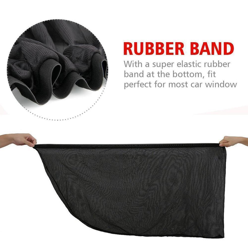 Car Side Window Shade, 2 Packs CAR PRODUCTS AND TOOLS Smart saker
