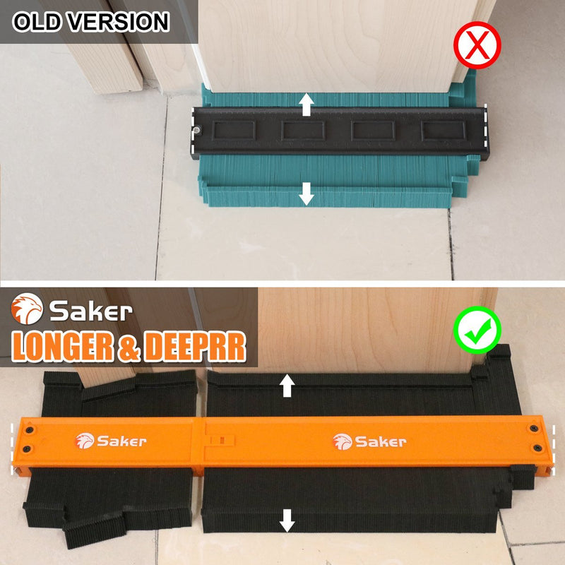 Saker® Connection Profile Gauge(5+10) TEST & MEASURE Smart saker