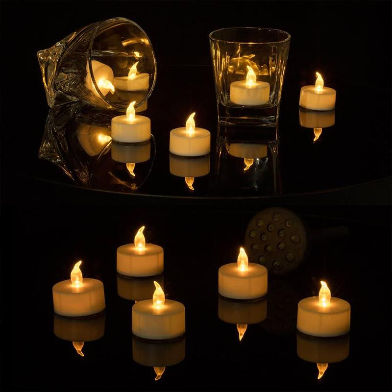 Battery Powered LED Candle Light HOME DECORATIVE LAMPS Smart saker