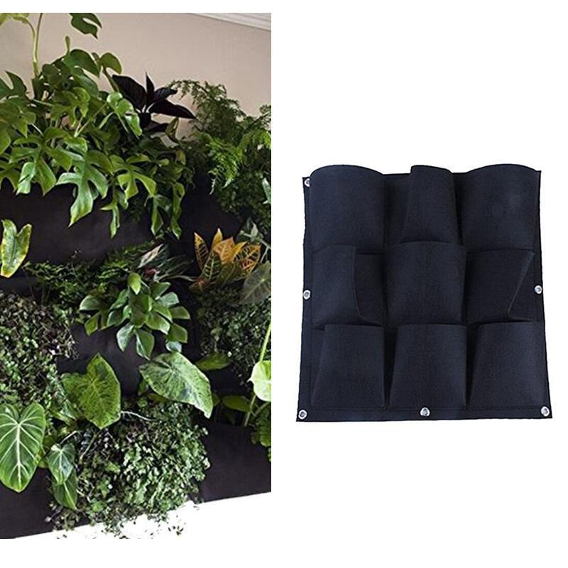 Bearhome Vertical Hanging Growing Bag RAISED GARDEN BED smartsaker