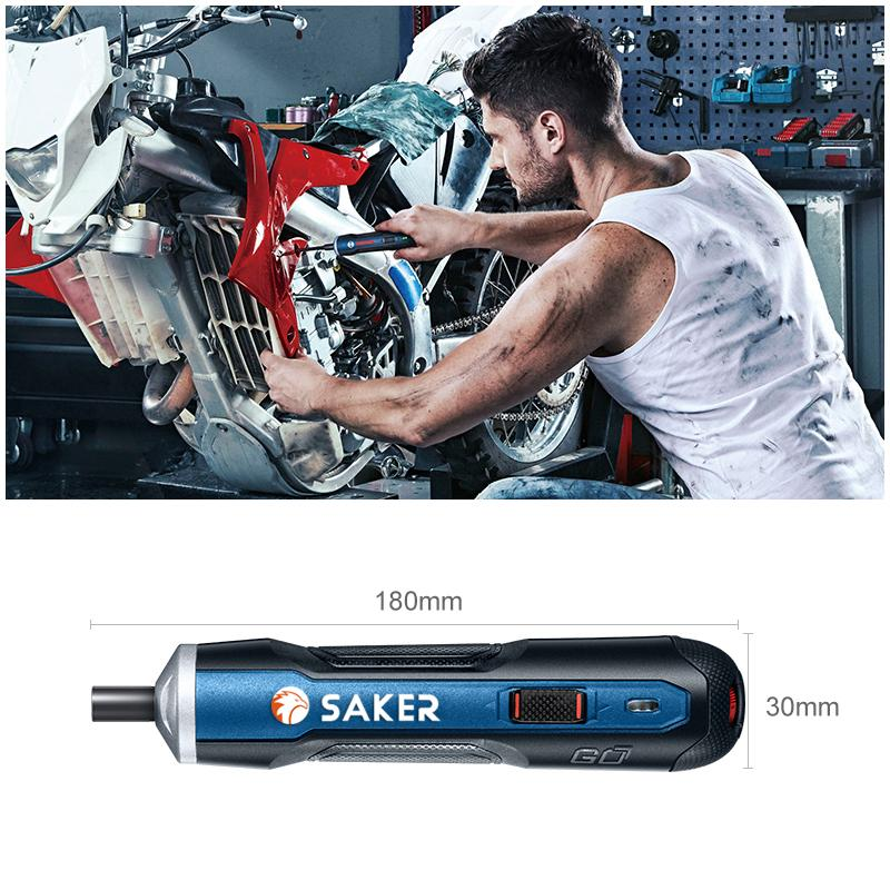Saker Professional Cordless Electric Screwdriver THE CORDLESS Smart saker