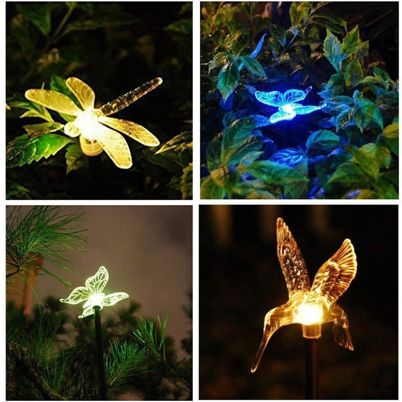 Solar-Powered LED Color Changing Light Outdoor Lights smartsaker