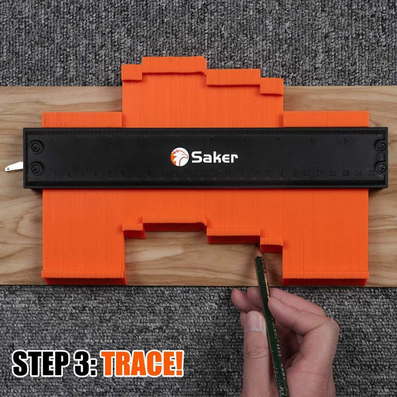 Saker® Profile Gauge with Lock TEST & MEASURE smartsaker