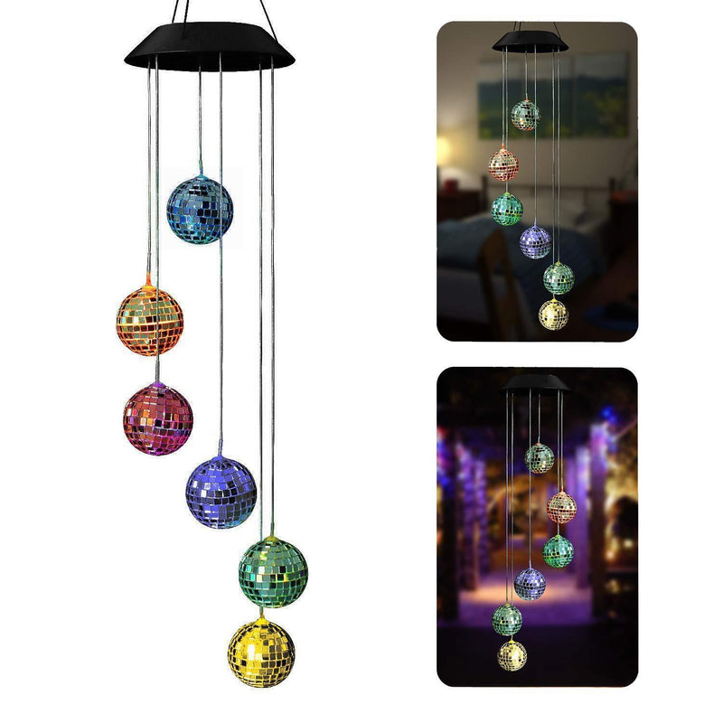 Disco Mirror Ball Solar Light HOME DECORATIVE LAMPS Smart saker