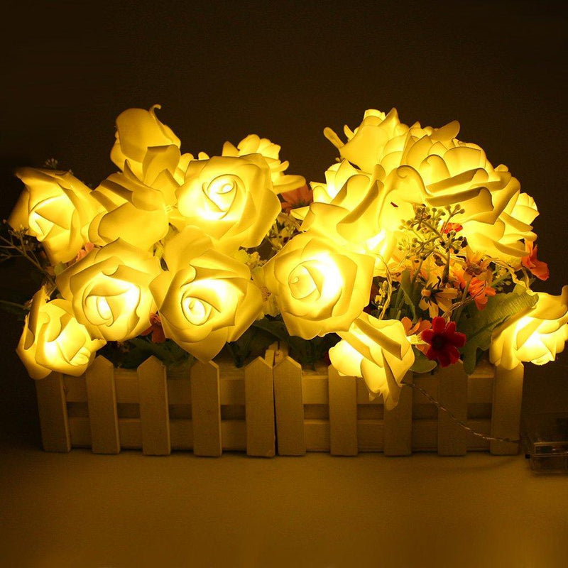 Flower Rose Fairy Light HOME DECORATIVE LAMPS smartsaker