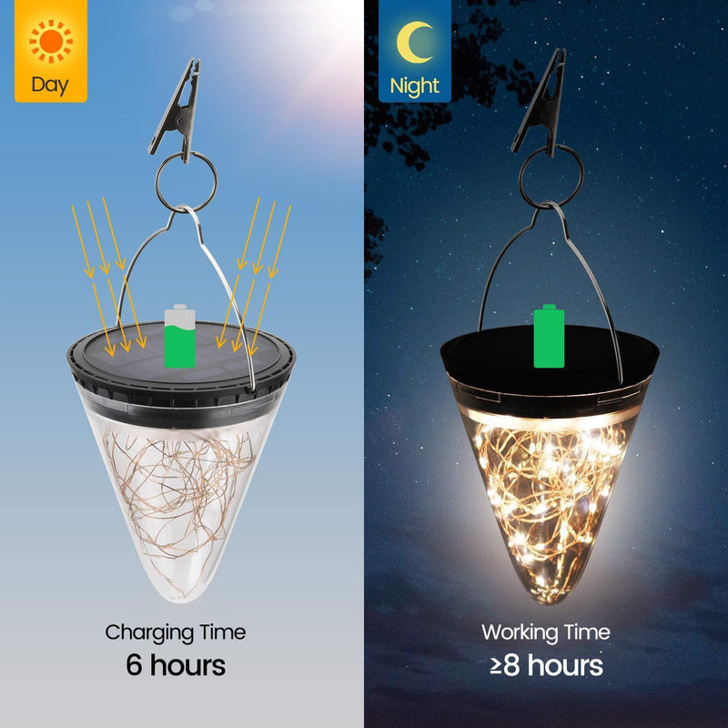 Solar Cone Diamond Light OUTDOOR LIGHTS Smart saker