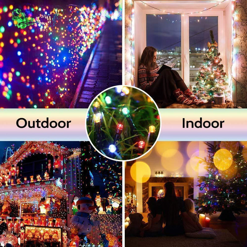100 LED Solar Powered String Fairy Lights OUTDOOR LIGHTS smartsaker