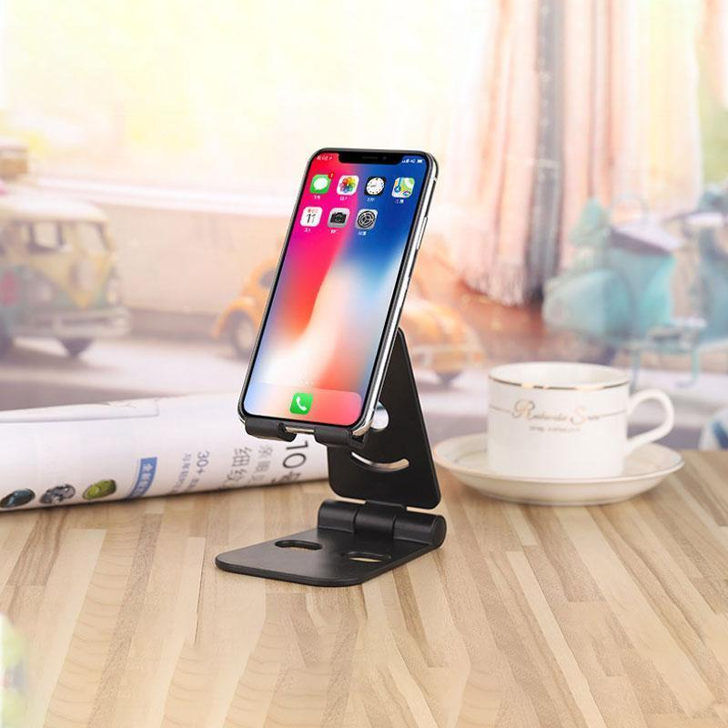 Foldable Swivel Phone Stand OTHER LIFE TOOLS Smart saker Black