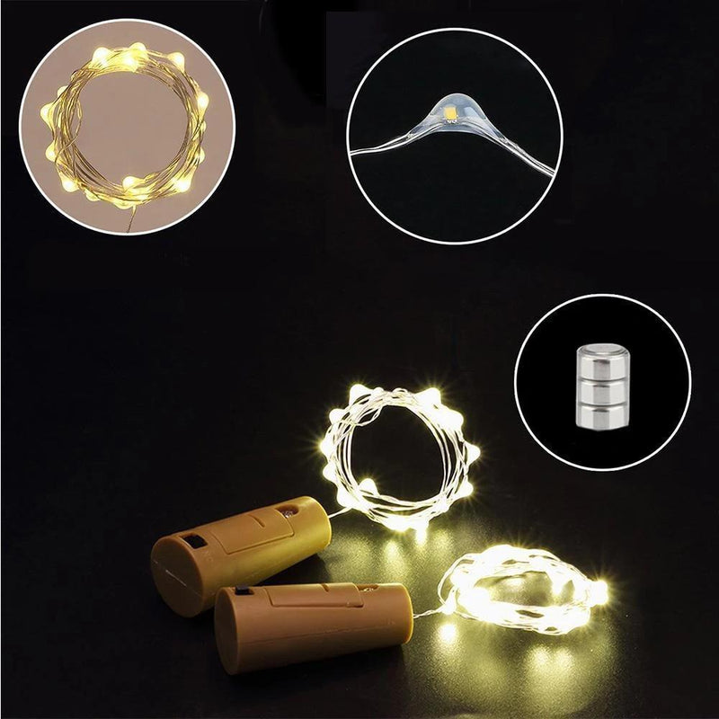 LED bottle light cork night light DIY deco gift HOME DECORATIVE LAMPS smartsaker