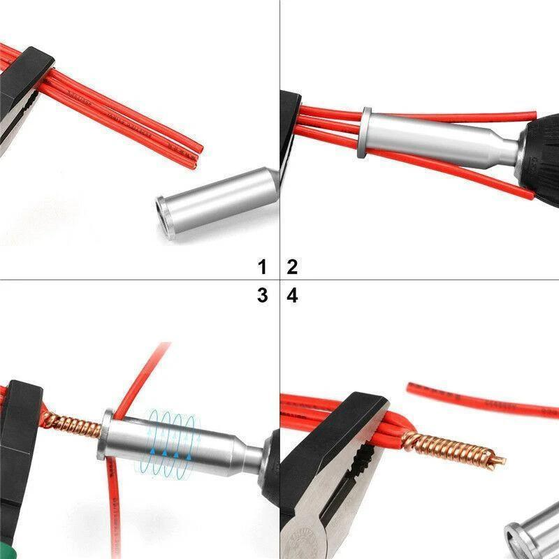 Drill Cable Quick Connector