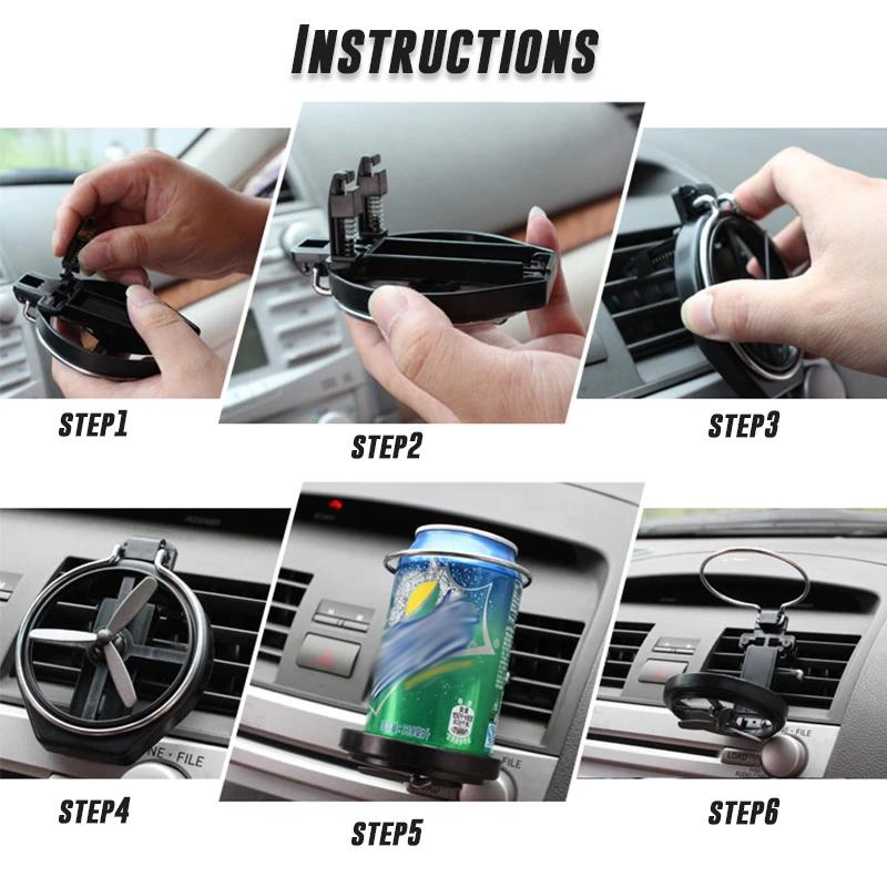 Car Folding Beverage Rack CAR PRODUCTS AND TOOLS Smart saker