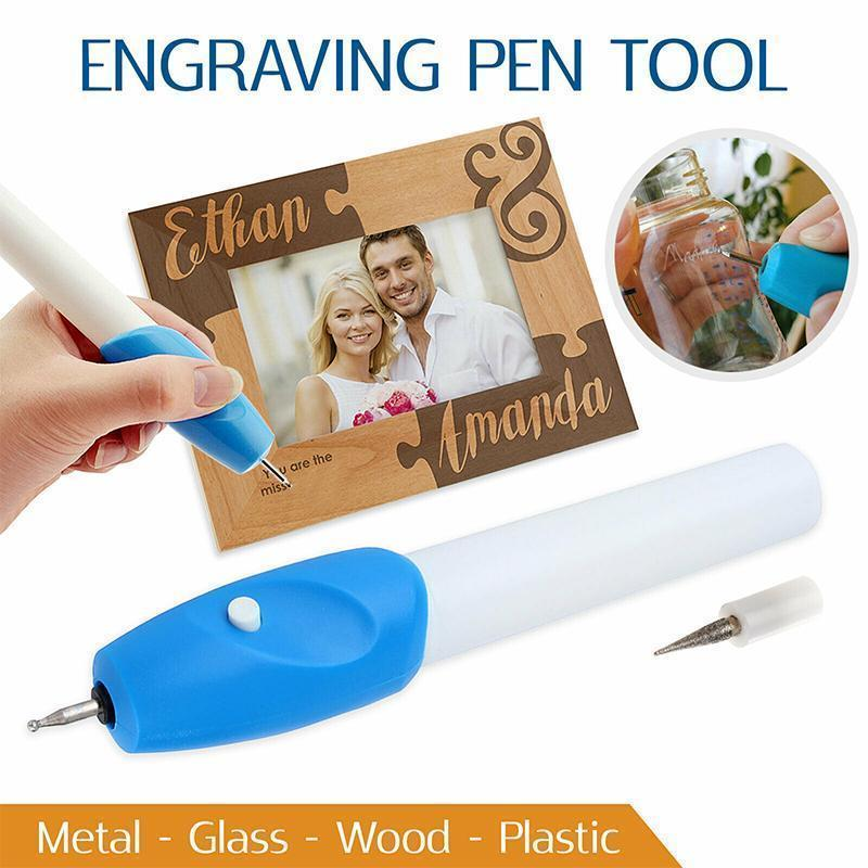 Portable Electric Engraving Pen smartsaker
