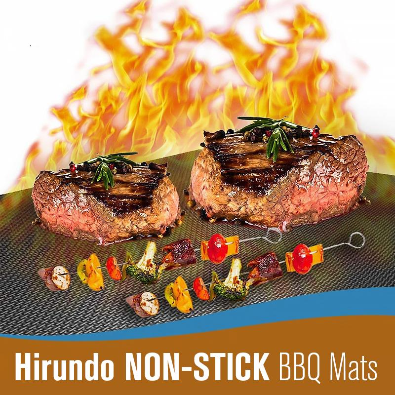 Hirundo Non-stick BBQ Baking Mats OUTDOOR BARBECUE smartsaker