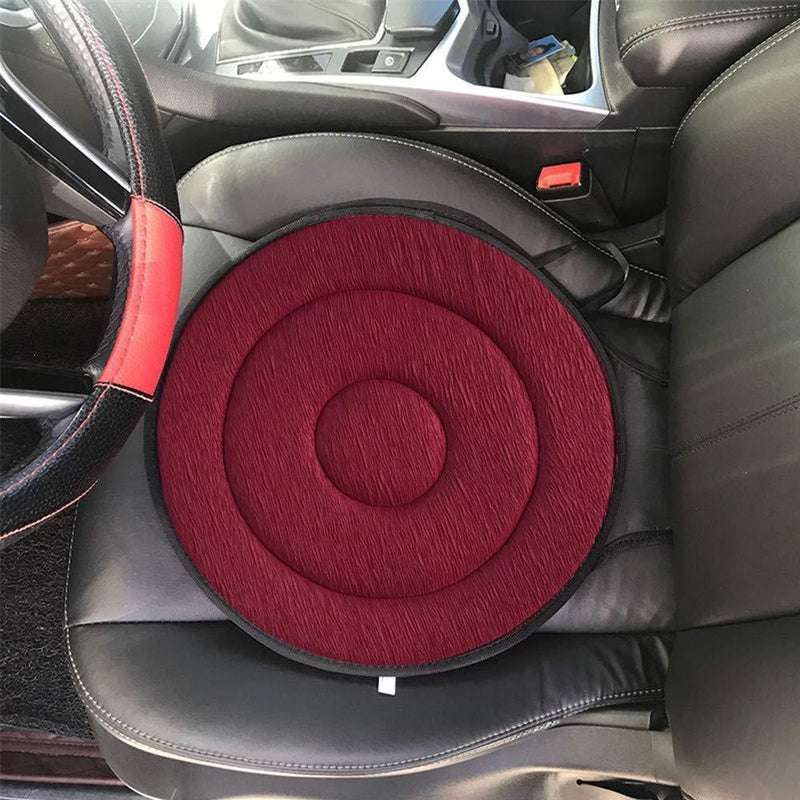 360° Rotating Seat Cushion CAR PRODUCTS AND TOOLS Smart saker red