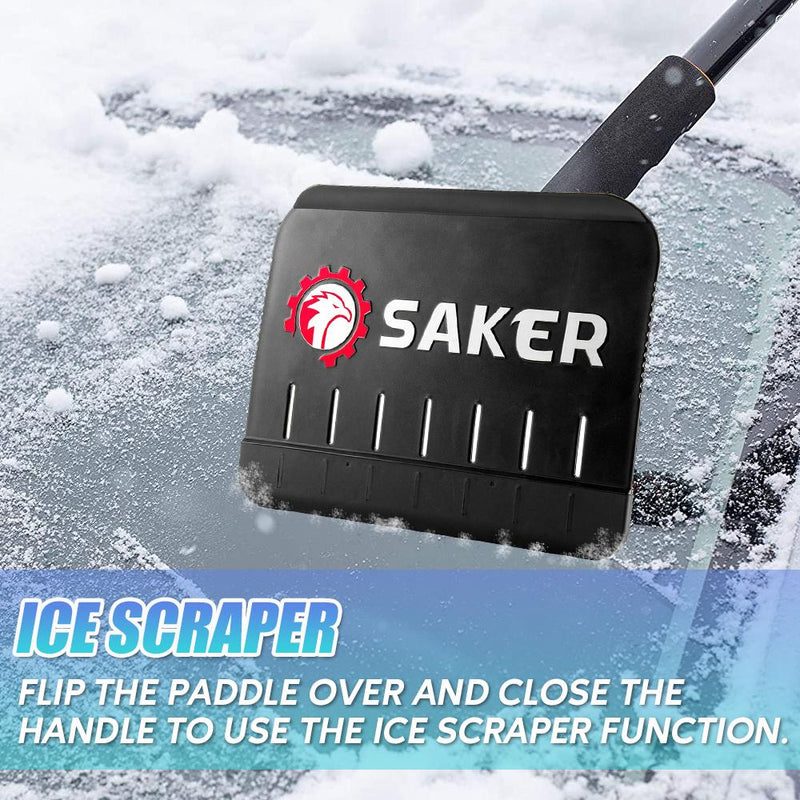 Saker Collapsible Snow & Ice Removal Tool CAR PRODUCTS AND TOOLS Smart saker