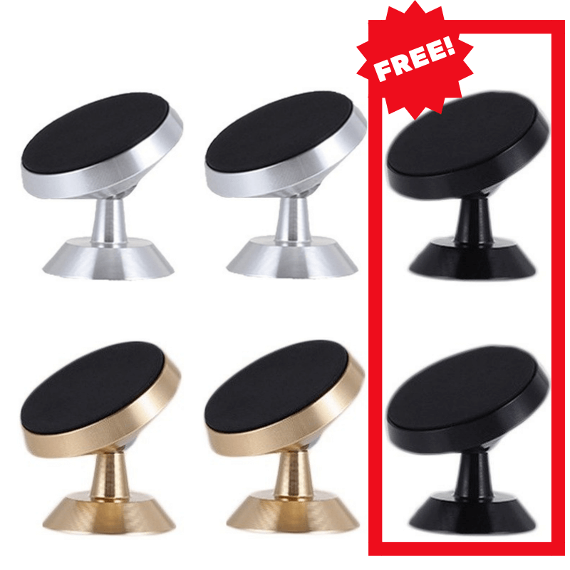 360 Degree Magnetic Phone Holder CAR PRODUCTS AND TOOLS Smart saker