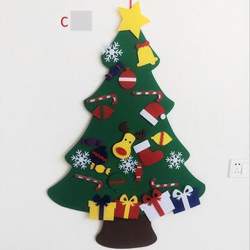 DIY Felt Christmas Tree(Best Gift For Children.) sunsetime C