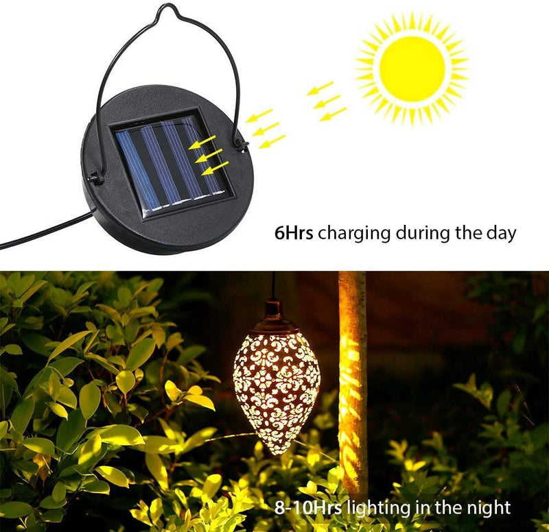 Outdoor Hanging Solar Lights OUTDOOR LIGHTS Smart saker