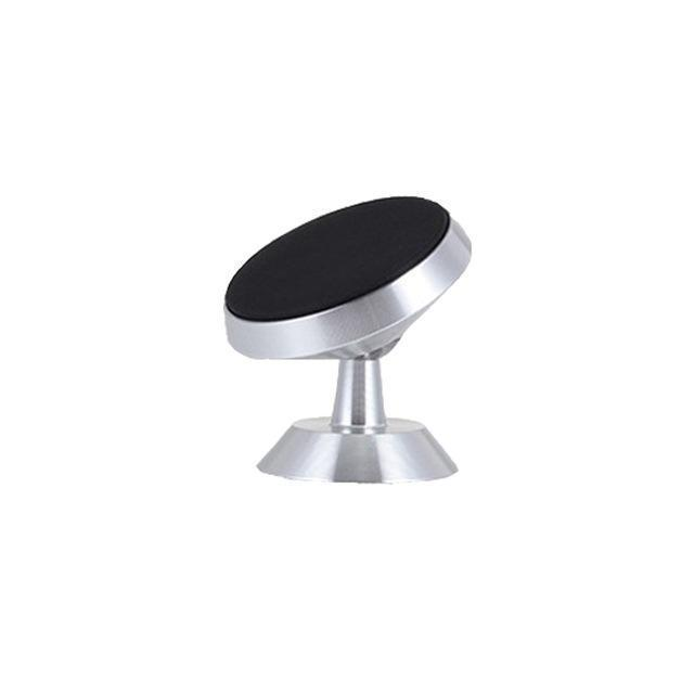 360 Degree Magnetic Phone Holder CAR PRODUCTS AND TOOLS Smart saker Silver