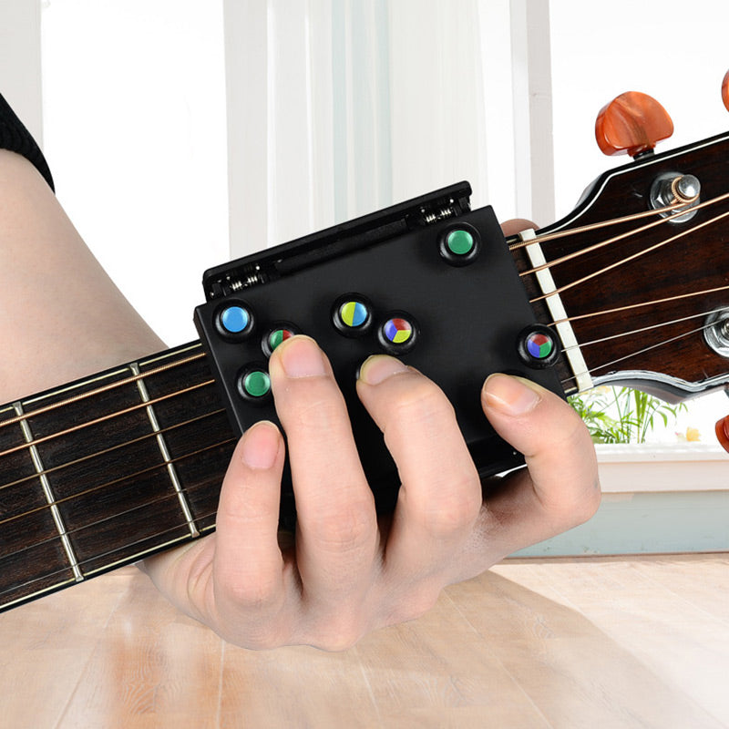 Guitar Learning Tool with 21 Chords Lesson