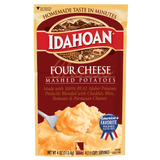 Idahoan® Four Cheese Mashed Potatoes, 4oz (Single Pouch)