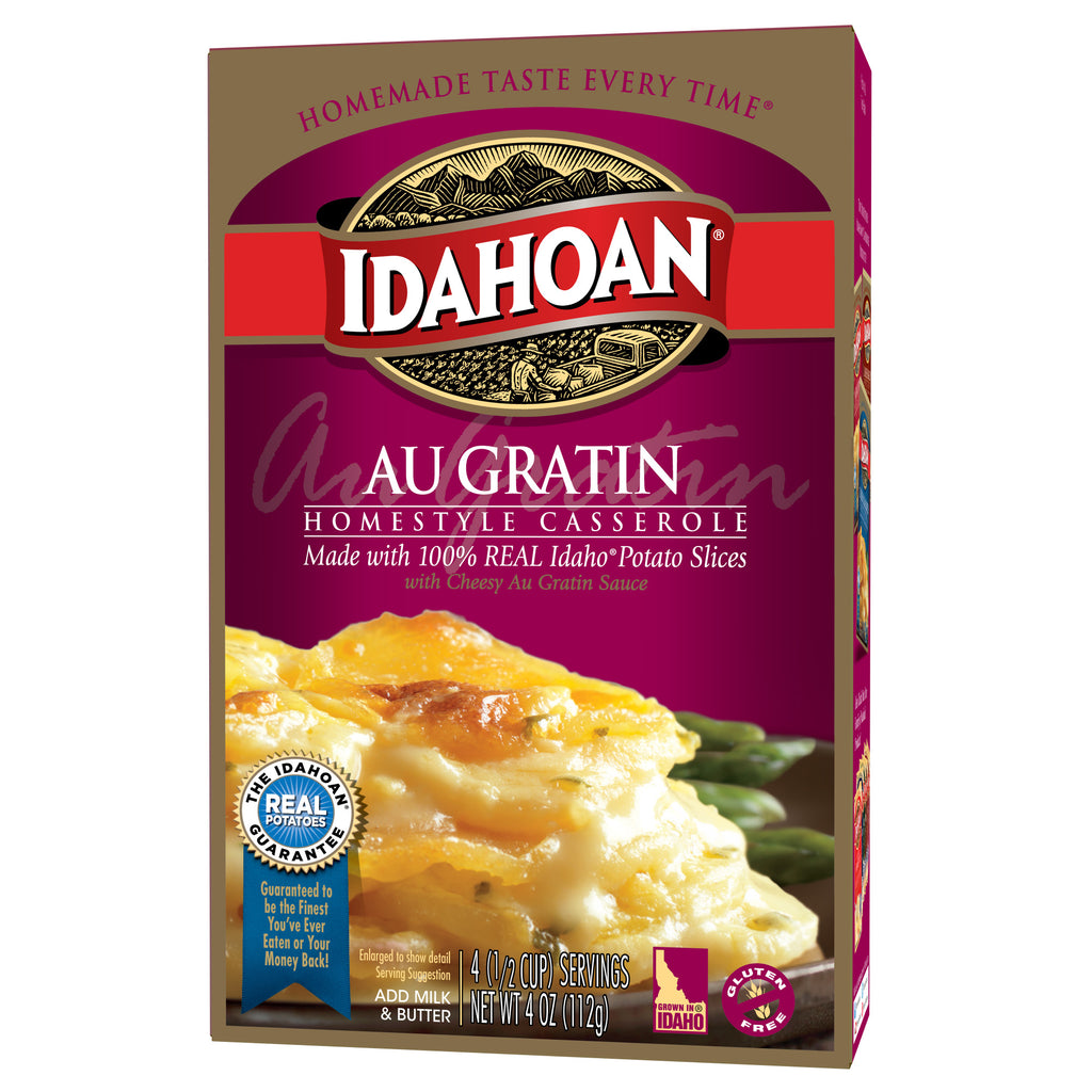 Idahoan Au Gratin Homestyle Casserole, 4 oz (Pack of 12)