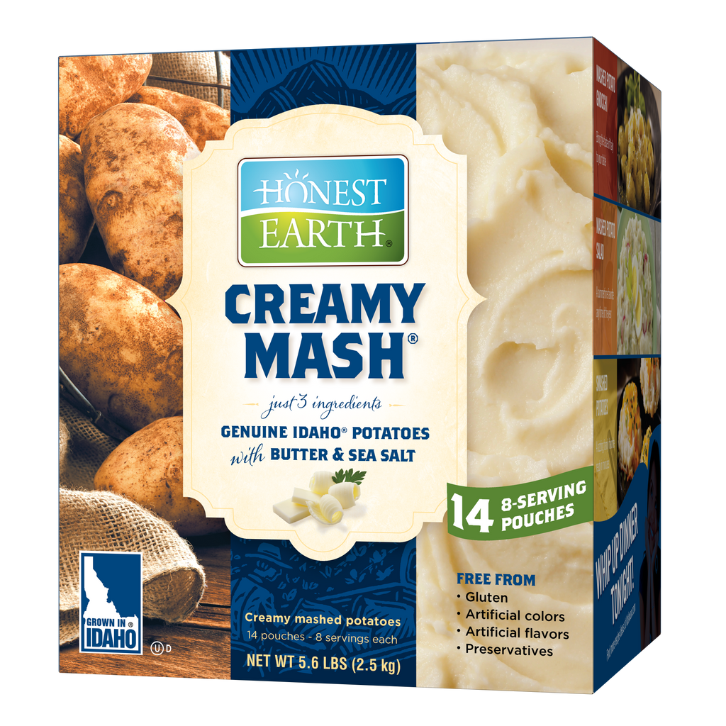 Honest Earth® Creamy Mashed Potatoes, 6.4oz (Pack of 14)