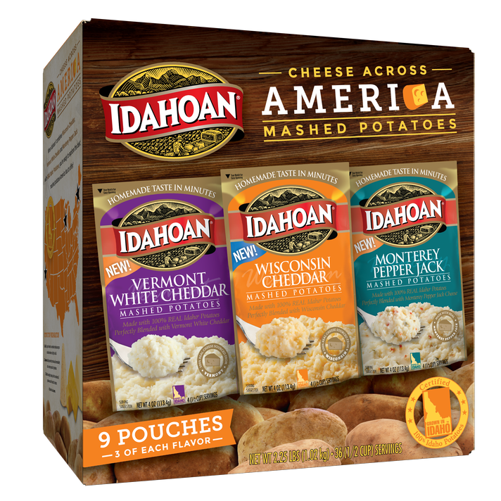 Cheese Across America Variety Pack, 4oz (Pack of 9)