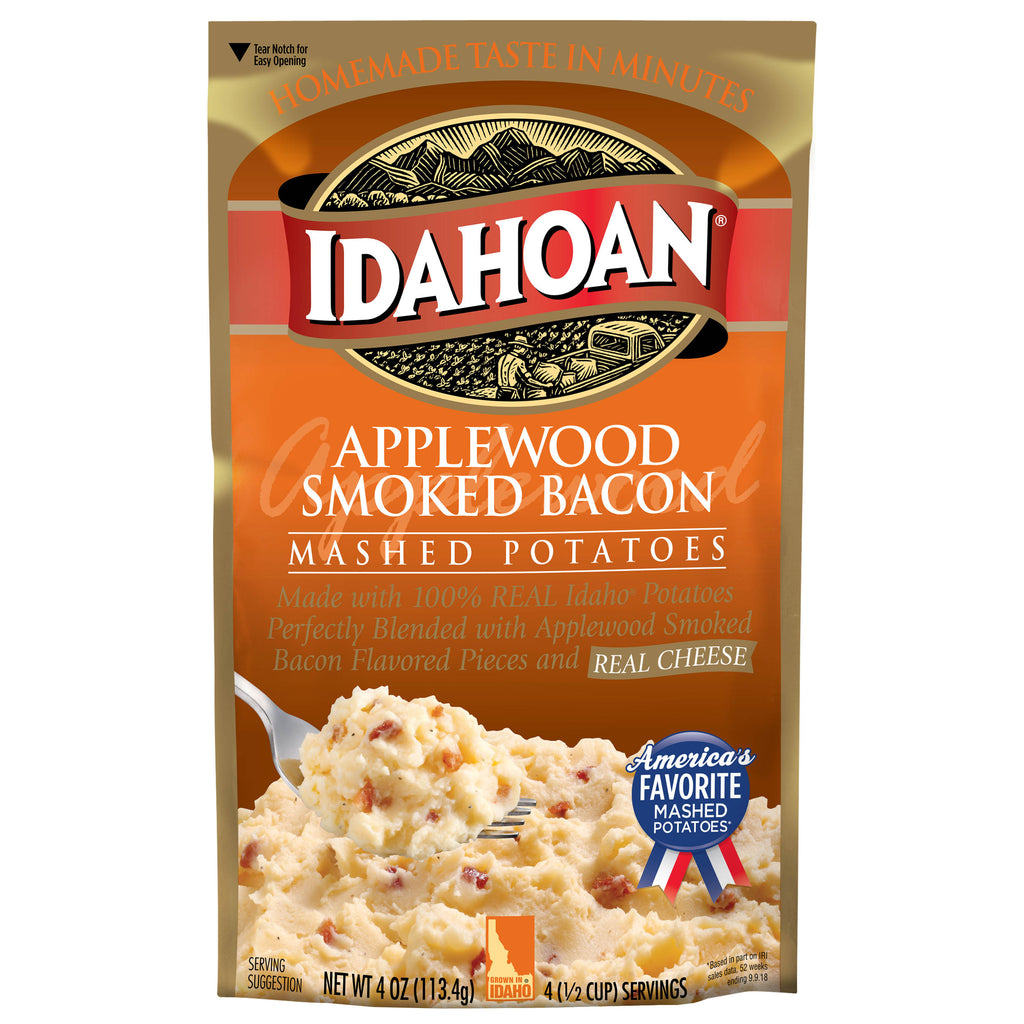 Idahoan® Applewood Smoked Bacon Mashed, 4 oz (Single Pouch)