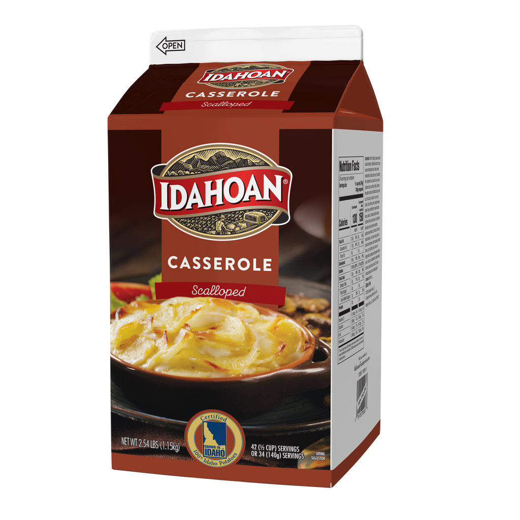 Idahoan® Scalloped Potatoes, 2.54 lb Carton (Pack of 6)
