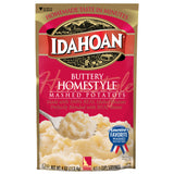 Idahoan Buttery Homestyle® Mashed Potatoes, 4oz (Pack of 12)