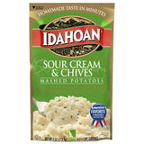 Idahoan® Sour Cream & Chives Mashed, 4 oz (Pack of 12)