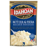 Idahoan® Butter & Herb Mashed Potatoes, 4oz (Single Pouch)
