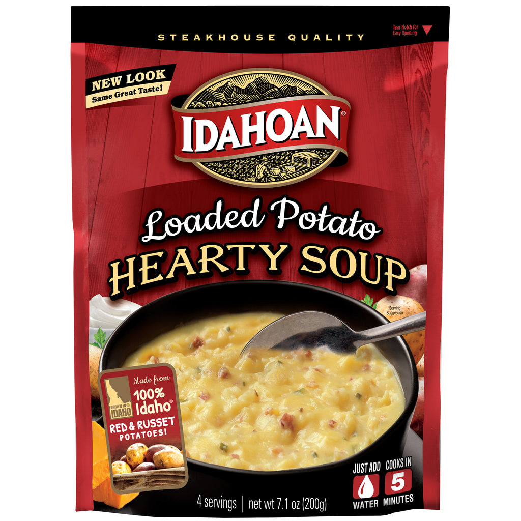 Idahoan® Loaded Potato Hearty Soup, 7.1 oz (Pack of 8)