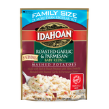 Idahoan Baby Reds® w/ Roasted Garlic & Parm Mashed Family Size, 8.2 oz (Pack of 8)