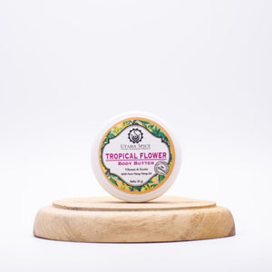 Utama Tropical Flower Body Butter (30g)