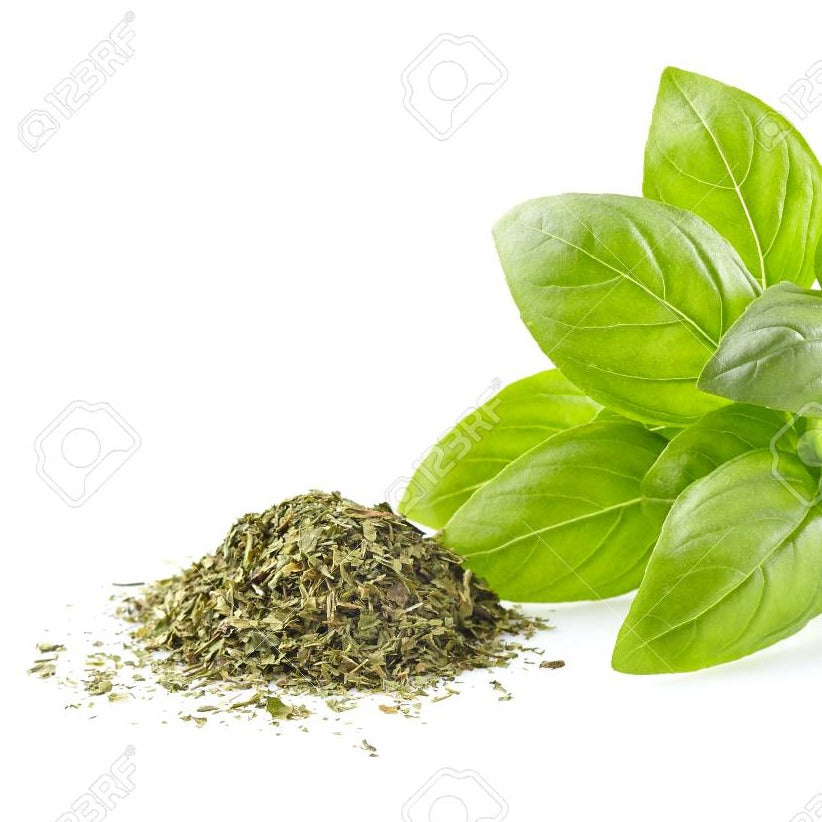 Dried Basil Leaves (50g)