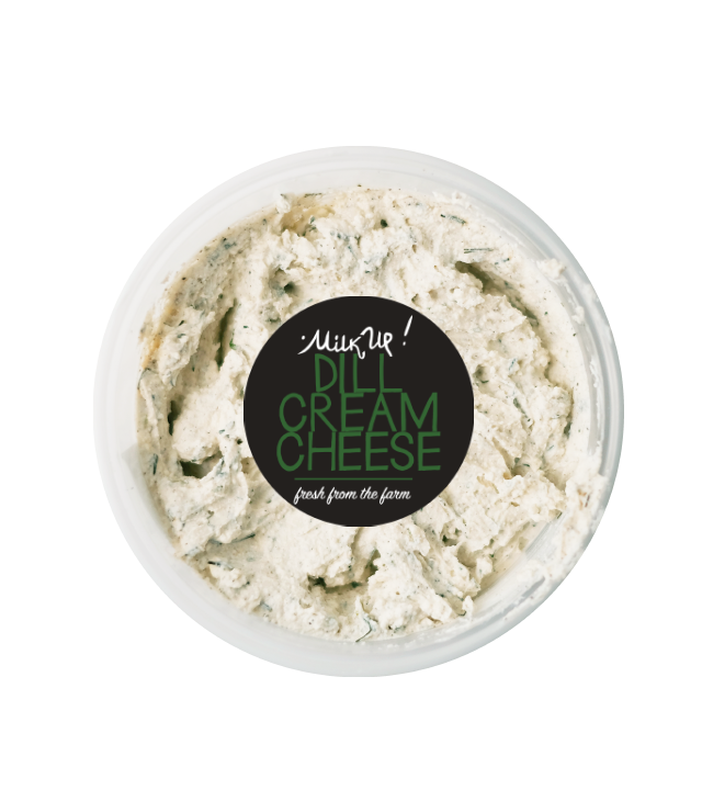 Milk Up Cream Cheese Dill (250g)