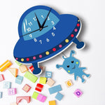 Children's Clock with Pendulum <br>Flying Saucer - My Wall Clock